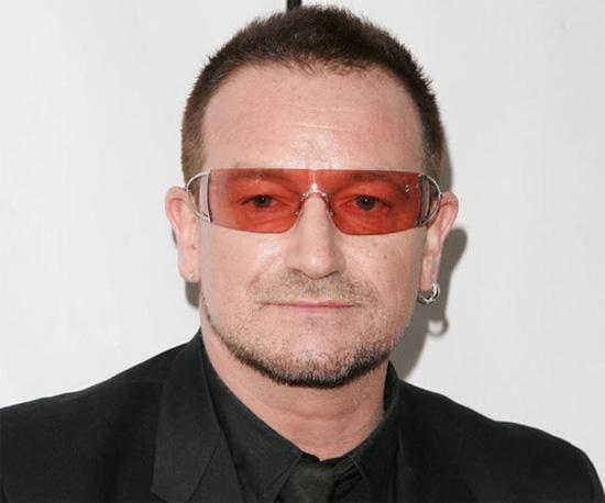 Bono, le leader du groupe U2 fête son 56ème anniversaire cette semaine !