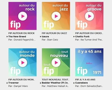 A l'occasion de son 45e anniversaire, FIP lance six webradios thématiques
