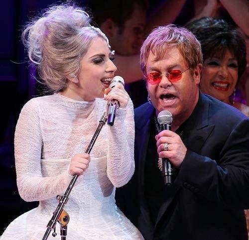 Une collaboration entre Lady Gaga et Elton John