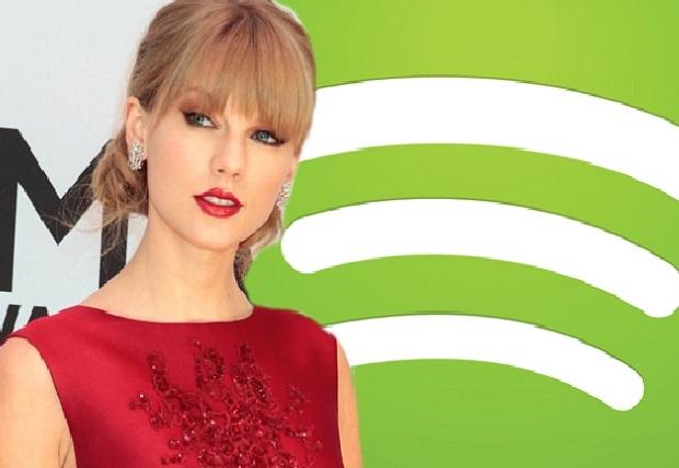 Coup dur pour Spotify : Taylor Swift retire tous ses titres de la plateforme.