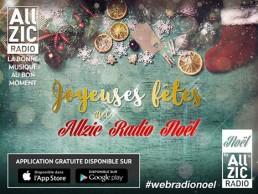 La radio de Noël est de retour avec Allzic Radio Noël