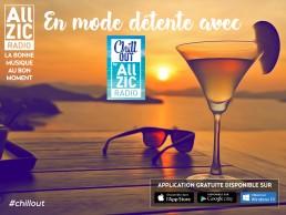 Chill out, la nouvelle playlist Allzic pour un été réussi !