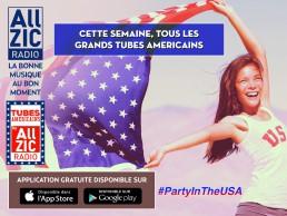 Les tubes américains sont à l'honneur cette semaine !