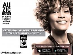 Whitney Houston à l'honneur cette semaine !