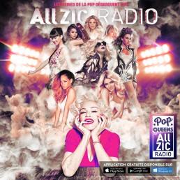 Découvrez Allzic Radio Pop Queens, la radio des plus grandes stars de la pop