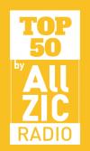 Ecouter Allzic Radio TOP 50 en ligne
