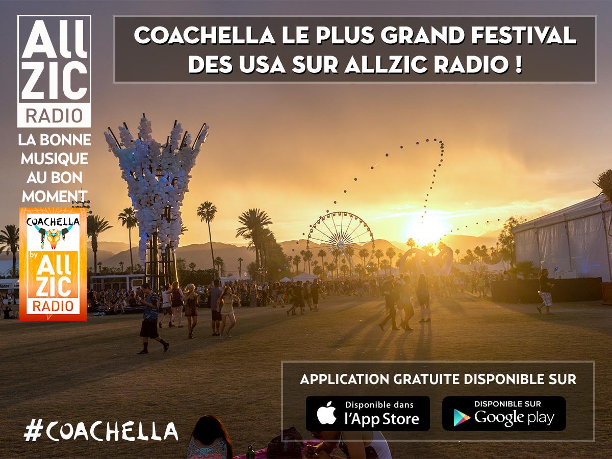 Coachella Valley Music and Arts Festival sur Allzic Radio !