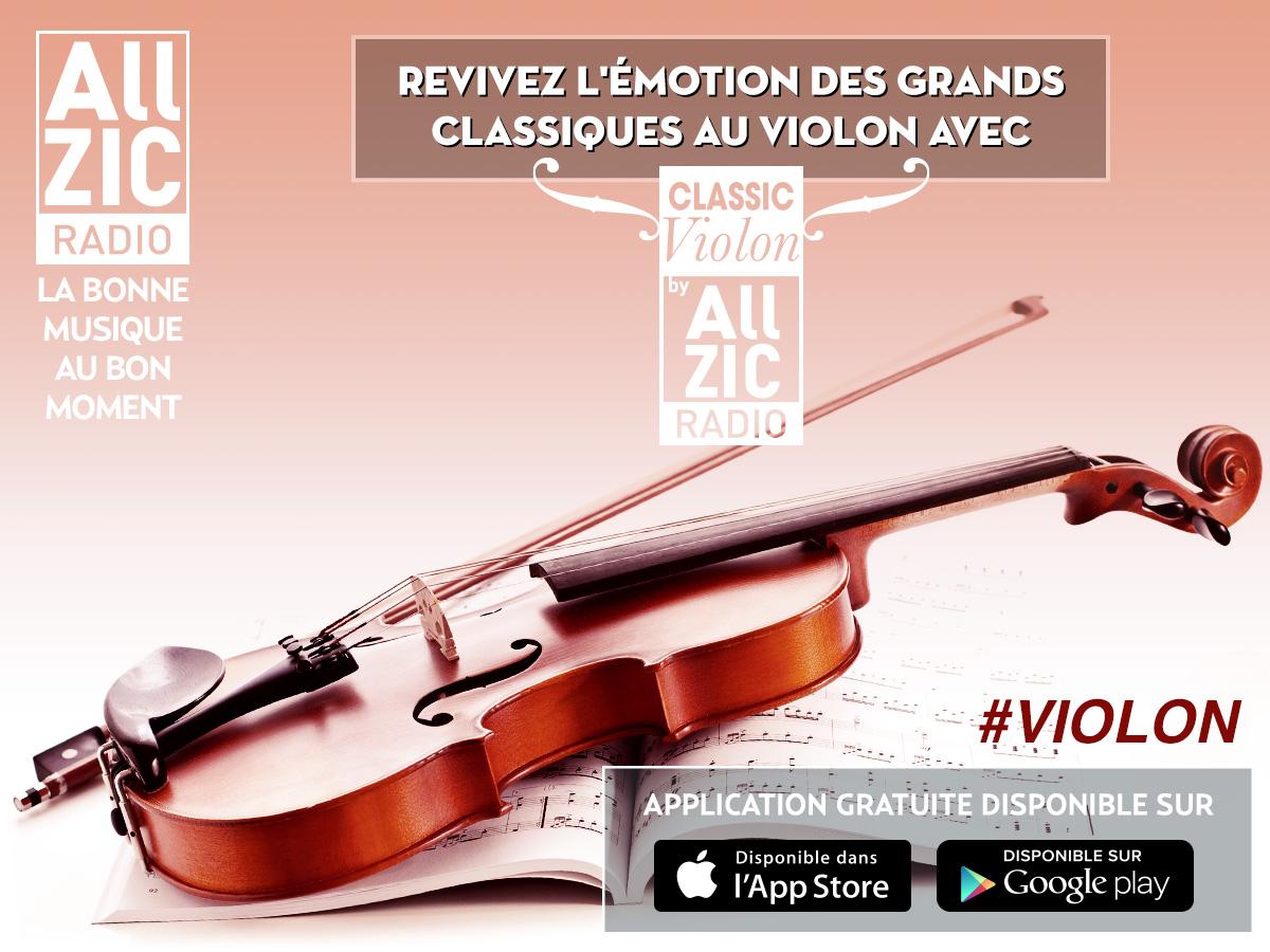 Allzic Radio Classic Violon, une nouvelle webradio pour les amoureux de violon