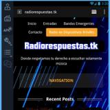 Ecouter Radiorespuestas en ligne