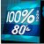 100% Radio 80'