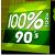 100% Radio 90'